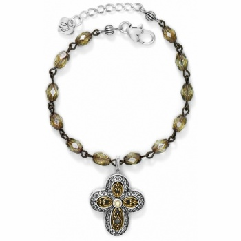 Via Delorosa Cross Bracelet