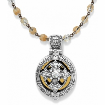 Radiance Locket  Necklace