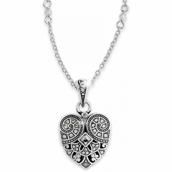 Mumtaz Small Heart Necklace
