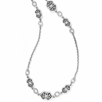 Alcazar Alcazar Heart Long Necklace