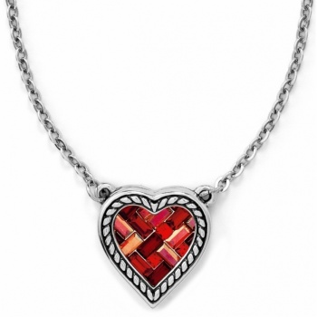 St. Michel St Michel Small Heart Necklace