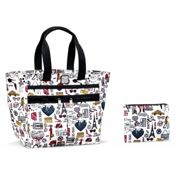 Fashion City Lock-It Super Tote