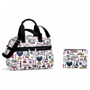 Fashion City Jetsetter Duffel