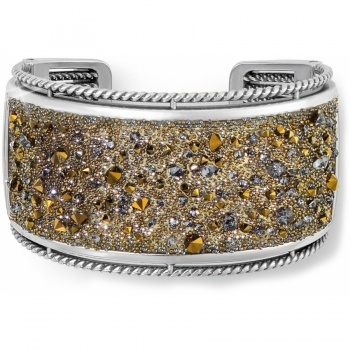 Crystal Medley Double Hinged Bangle