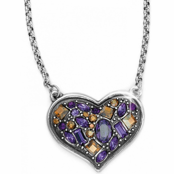 Christmas Present B You Heart Necklace