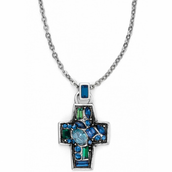 B You Cross Necklace