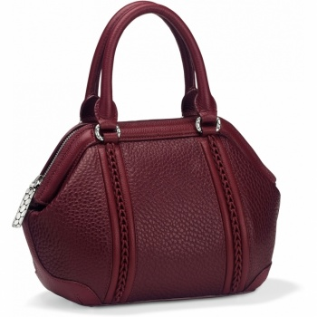 Pebble Ruby Small Satchel