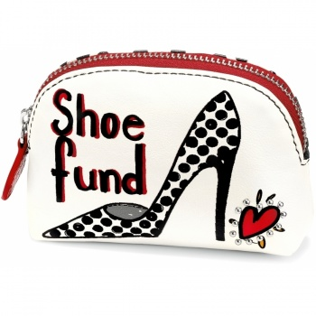 Fashionista Shoe Fund Mini Coin Purse