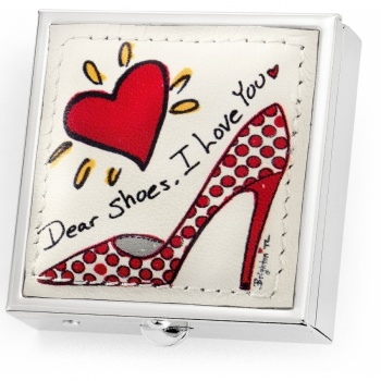 Fashionista Shoe Love Pill Box