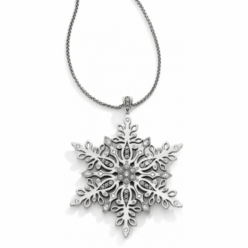 Snowflake Kisses Convertible Long Necklace