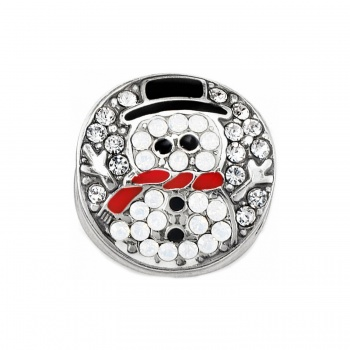 Blingy Christmas Blingy Snowman Bead