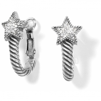 CELESTIA HEART Celestia Star Hoop Earrings