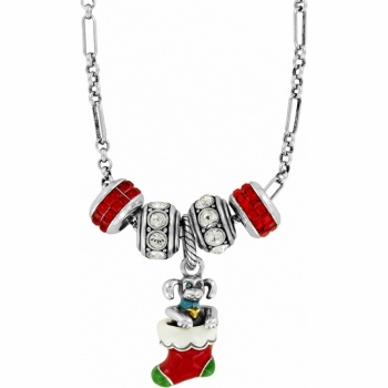 Christmas Puppy Necklace