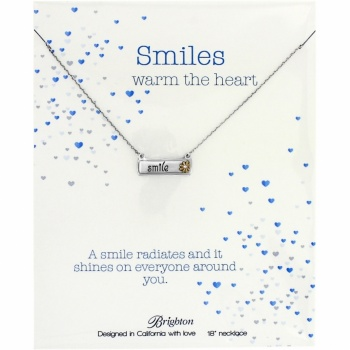 Note Tags Note Tags Smile Necklace