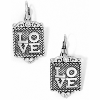 Love Shine Leverback Earrings