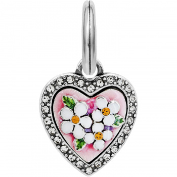 Blooming Heart Charm