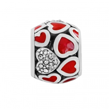 Abounding Hearts Bead