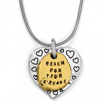 Love Quotes Reach Necklace