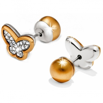 Massandra Reversible Butterfly Post Earrings