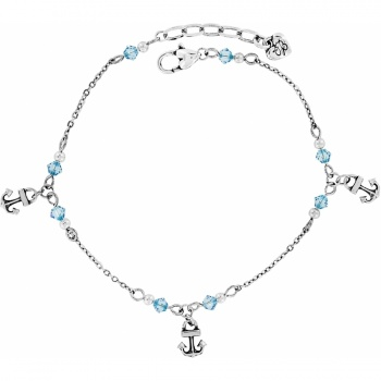 Bahama Blues Anklet