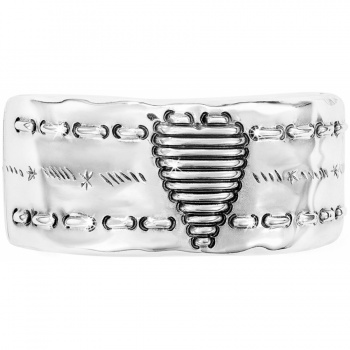 Heart Strings Hinged Bangle