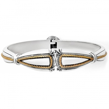 Quartet Etude Hinged Bangle