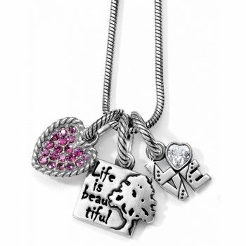 Beautiful Life Charm Necklace