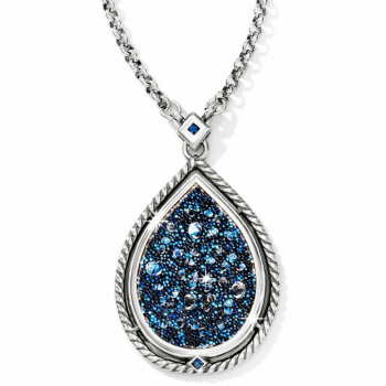 Crystal Medley Teardrop Necklace