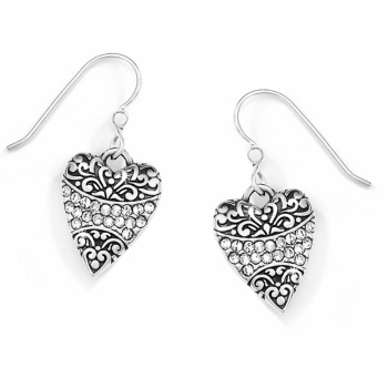 Crystal Love French Wire Earrings