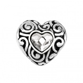 Message Swirly Love Bead