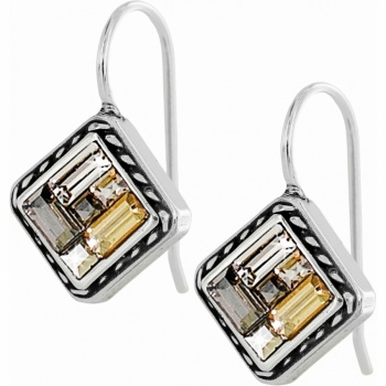 St Michel Greige French Wire Earrings