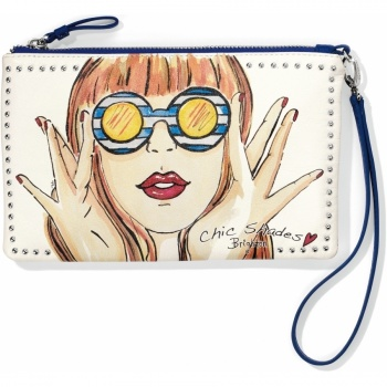 Fashionista Chic Shades Zip Pouch