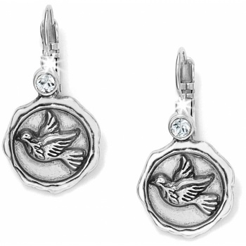 Dove Leverback Earrings