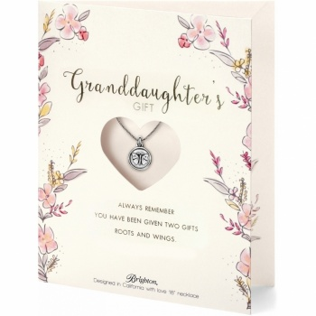 Family Love Granddaughter Necklace