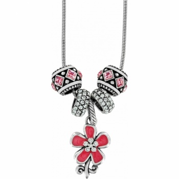 Petal Wishes Charm Necklace