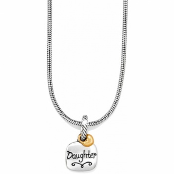 Sweet Daughter Short Charm Necklace