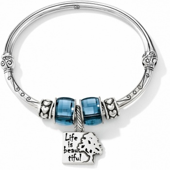 Beautiful Life Charm Bangle
