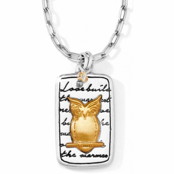 Nature's Wisdom Owl Necklace