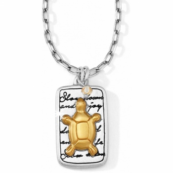Nature's Wisdom Turtle Necklace