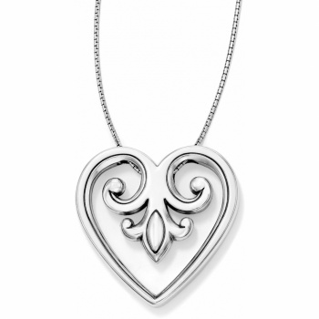 Palace Heart Convertible Heart Necklace