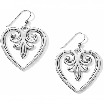 Palace Palace Heart French Wire Earrings