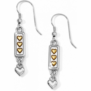 Our Hearts French Wire Earrings