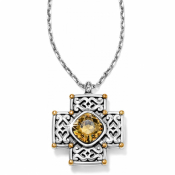 Deauville Cross Necklace