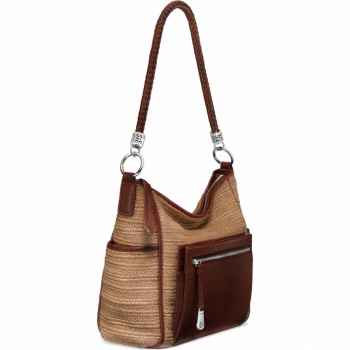 Brighton Your Bag Brice Straw Organizer Hobo