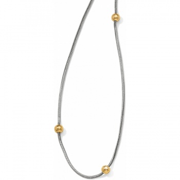 Everyday Two Tone Long Necklace