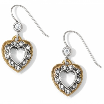 Primavera Heart French Wire Earrings