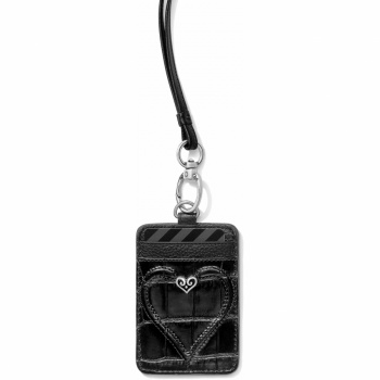 B Wishes Leather ID Holder