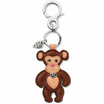 Menagerie Milo Monkey Handbag Fob