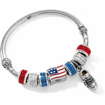 Go USA Charm Bangle