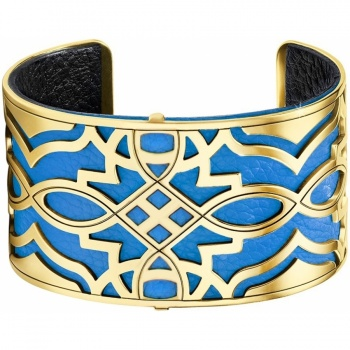 Christo Paris Wide Cuff Bracelet Set